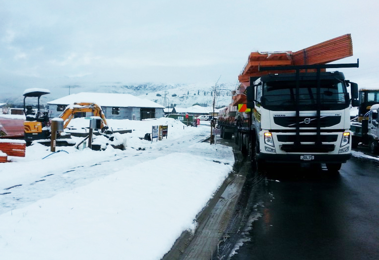 We Deliver, Rain, Hail Or Snow
