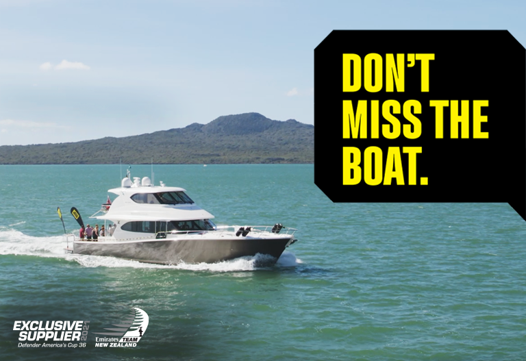 Join us on the Waitemata!