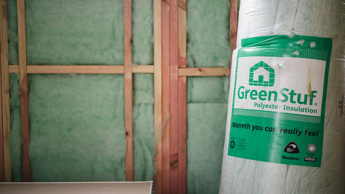 Eco-friendly insulation for residential and commercial applications