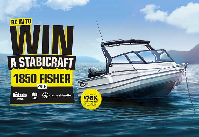 Win A Brand New Stabicraft 1850 Fisher Valued At 76k!