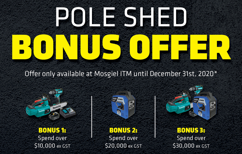 Grab A Bonus Offer With Your Shed