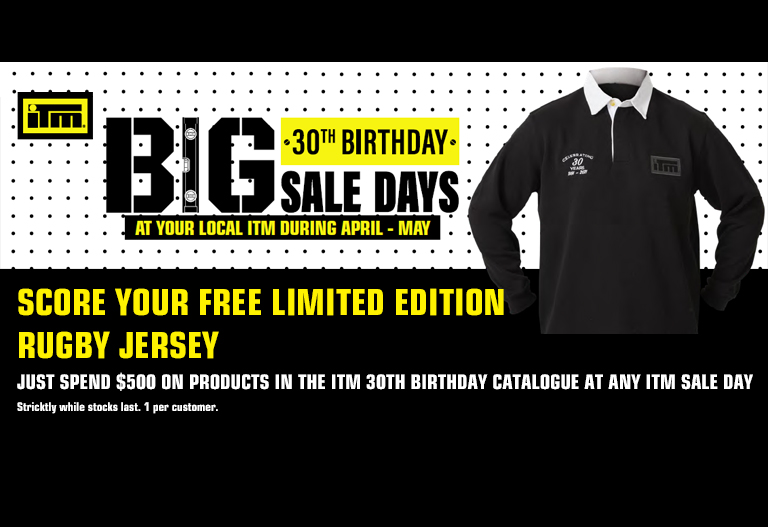 Get Your FREE ITM Rugby Jersey