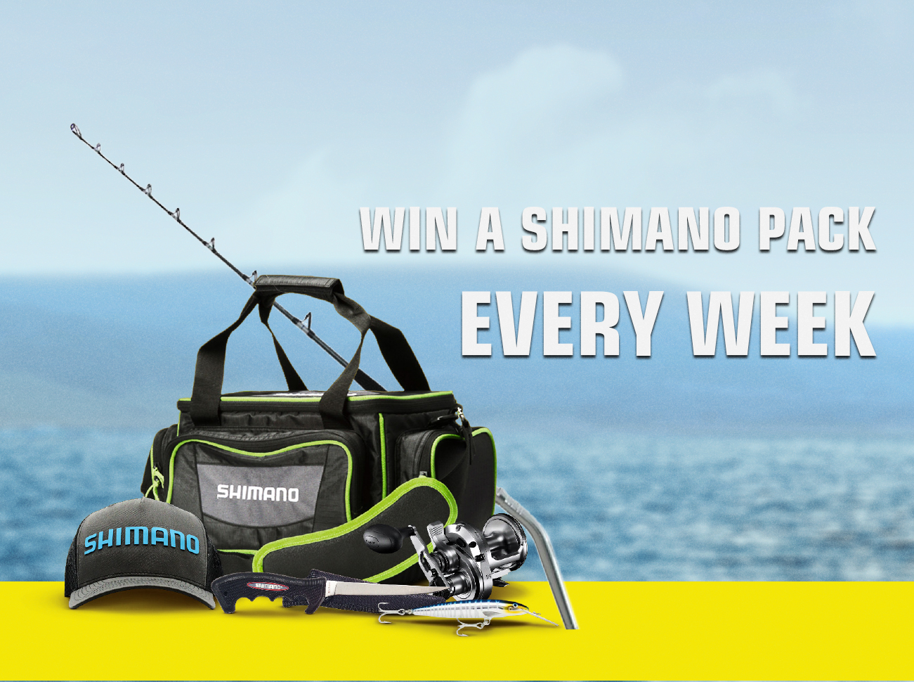 Bonus Shimano Fishing Packs To Win