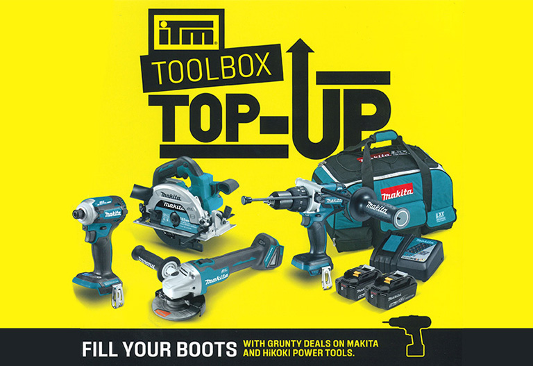 Fill your boots with grunty deals on makita and hikoki