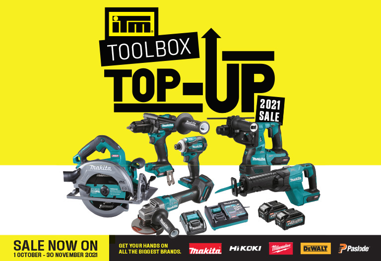 ITM's Toolbox Top-up Sale